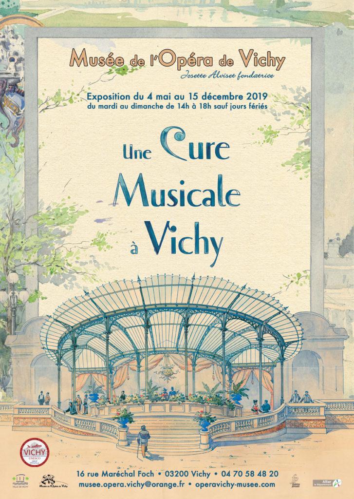 Exposition avec Fabien NOBLE : Une cure musicale à Vichy